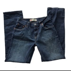 """Levi's 514 straight fit jeans 28""""W"""